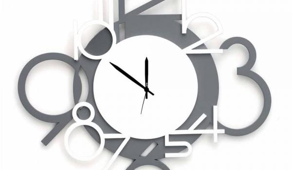 Risparmia con le migliori offerte per orologi da parete moderni a settembre 2021! Orologio Grande Da Parete In Legno Moderno Design Grigio