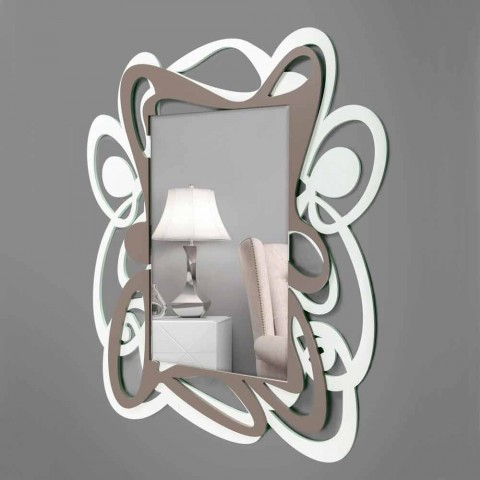 Ci sono di vari colori , ma secondo me quella trasparente e ' Specchio A Muro Moderno In Legno Design Per Camera Da Letto