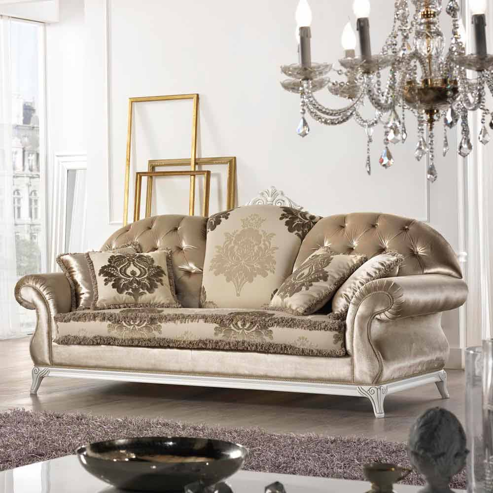 liberty sofa and motion loveseat rubber feet made in italy 2 seater fabric classic design baroque style