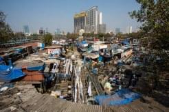 インド ムンバイ スラム