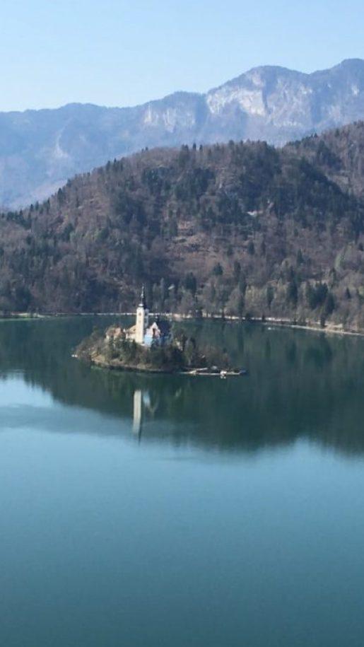 スロベニア 聖母被昇天教会 ブレッド城