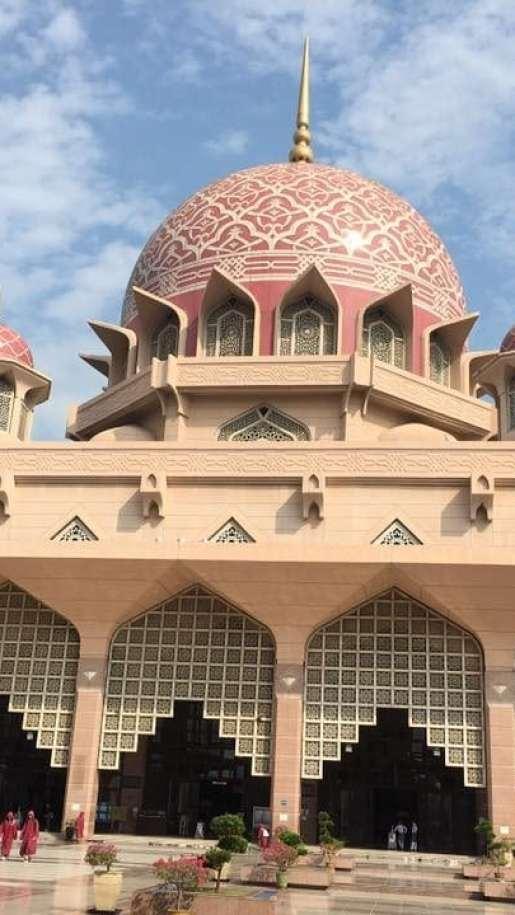 クアラルンプール 観光 ピンクモスク