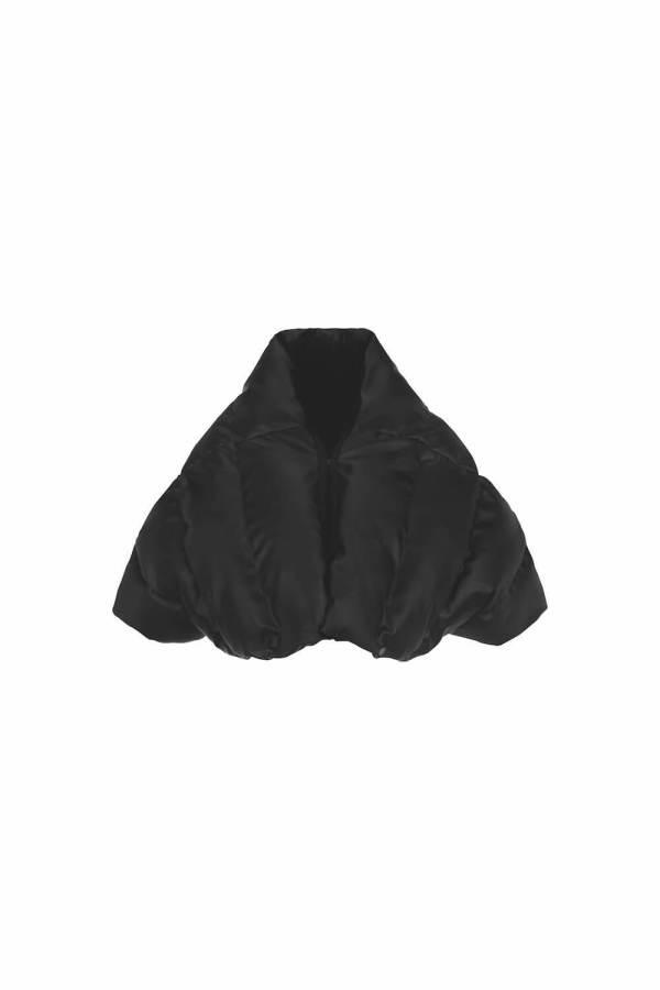 Cappotto staccabile Nero