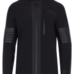 Giacca sci in softshell Nera