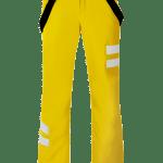 Pantaloni da sci Gialli