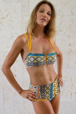 Top Bikini Salina Sicilian Yellow