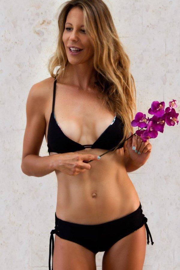 Top Bikini Panarea Tropical Flower