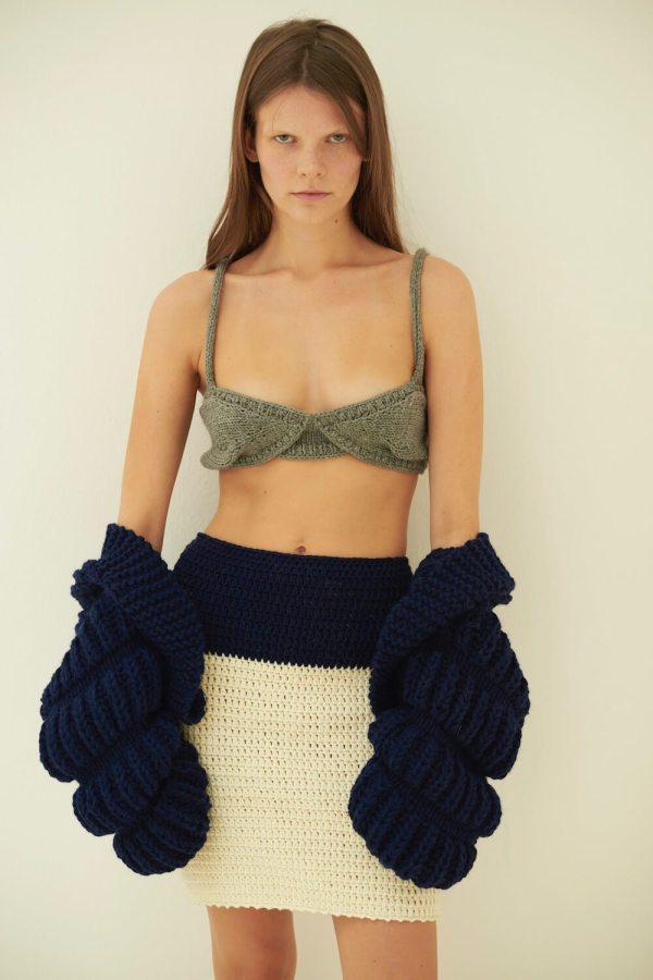 Reggiseno Knitted Bra