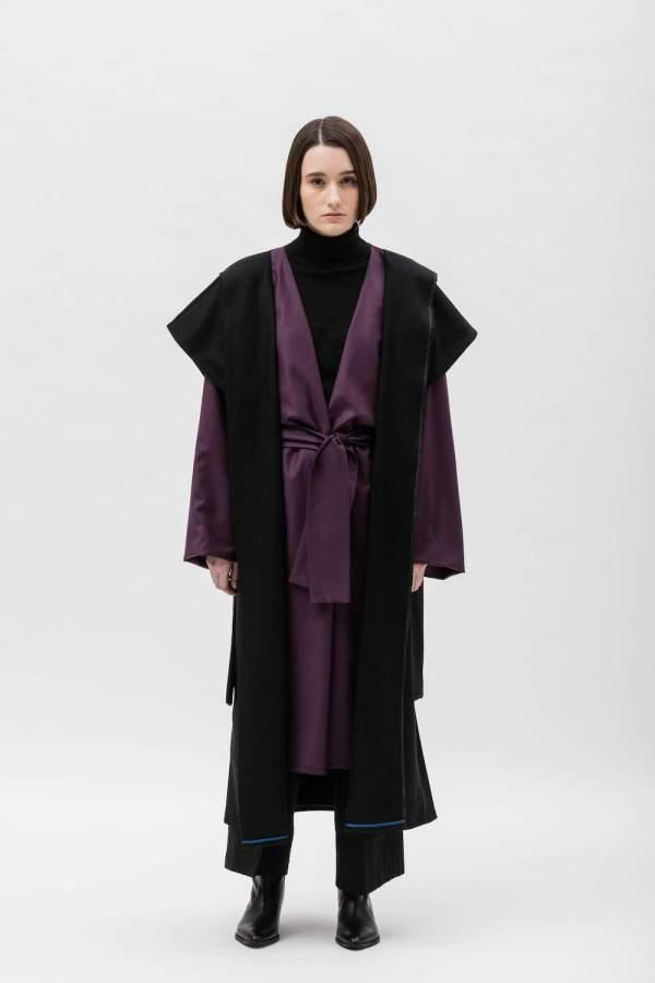 Cappotto Clarice Purple