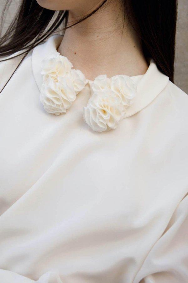 Bibì Winter Blouse Bianco