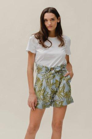 Candy Shorts Palm Olive&Sky