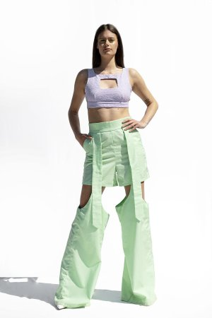 Pantaloni cut-out