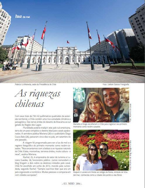 Revista Entre Noivas - Viagem a dois