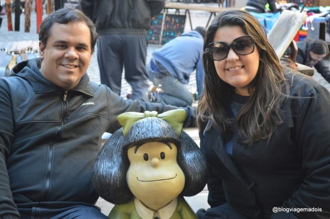 Nós e a Mafalda em San Telmo