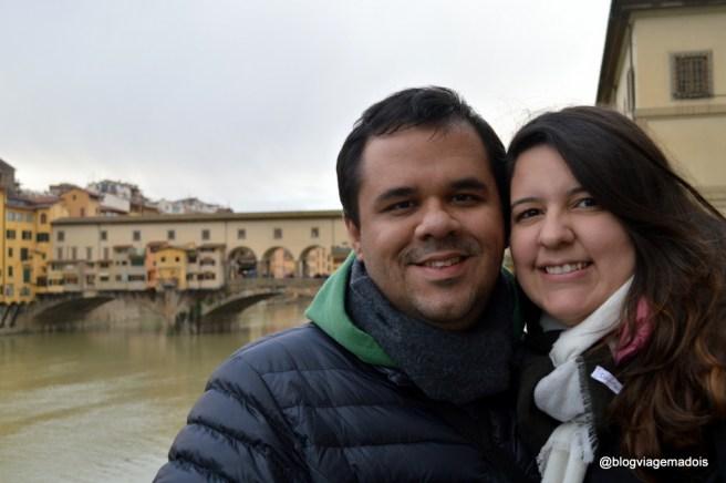 Nós em Florença
