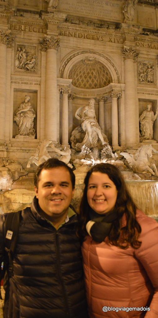 E em Roma