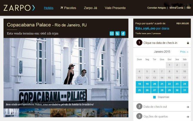 Que tal se hospedar no Copacabana Palace?