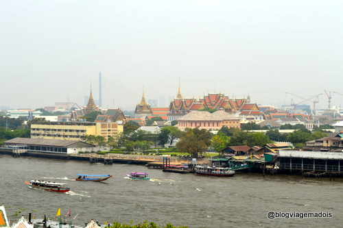 Bangkok vista de cima