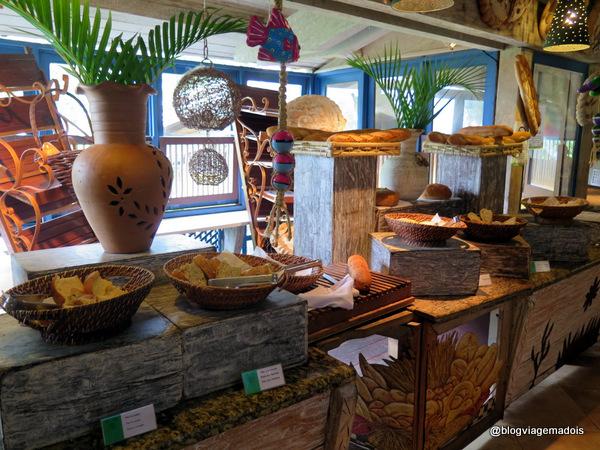 Mesa dos pães