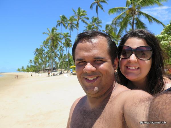 Nós na praia