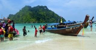Aonang, Railay Beach e o passeio das 4 ilhas