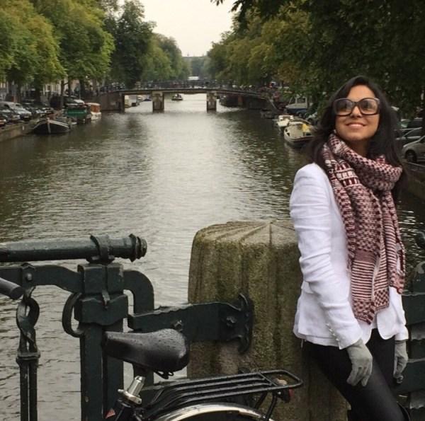 5 graus em Amsterdam