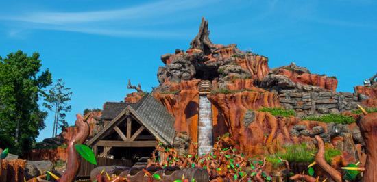 A queda (Foto da site da Disney)