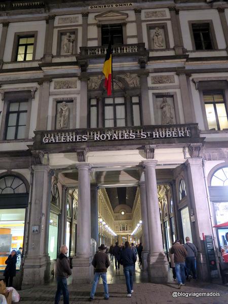 Roteiro de dois dias em Bruxelas