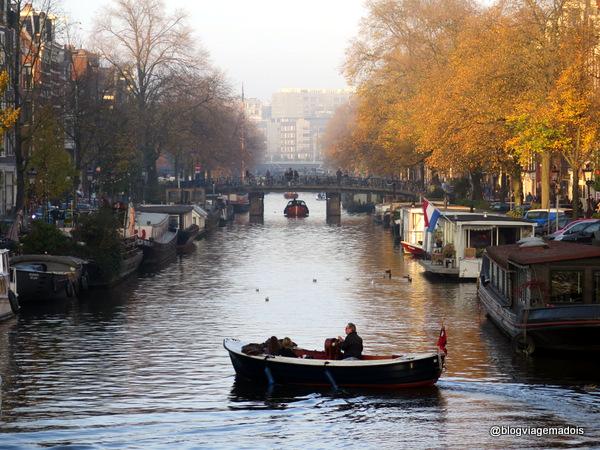 Outono em Amsterdam