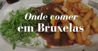 Onde comer em Bruxelas