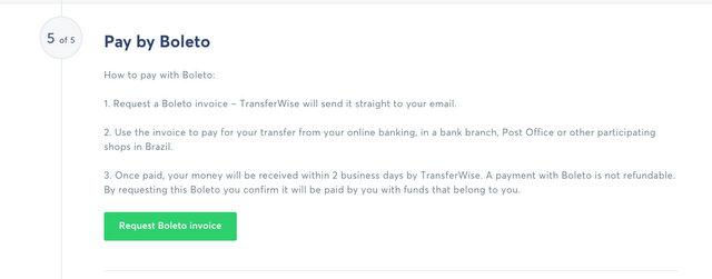 Como usar o Transferwise