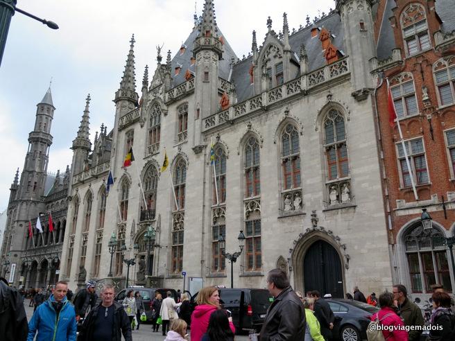 bate e volta para Bruges