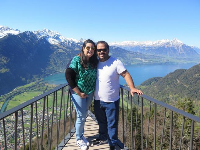 viagem para Suíça