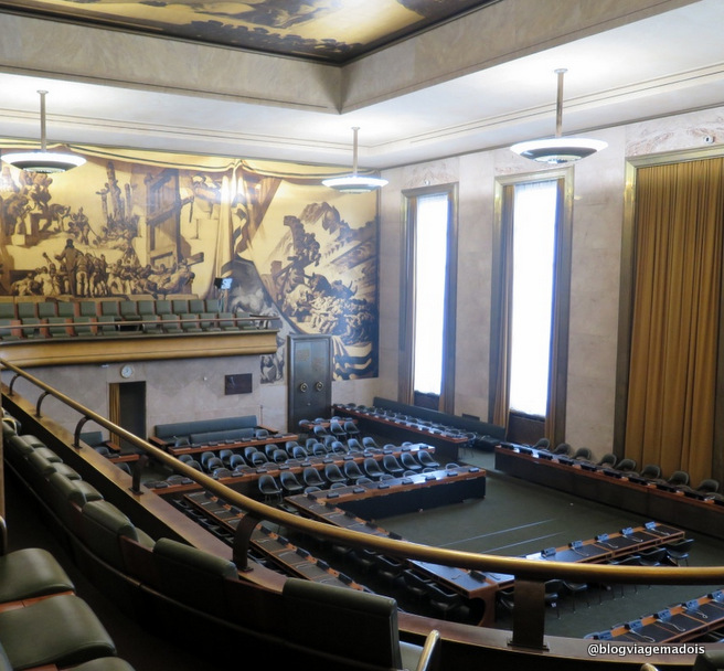 visita na ONU em Genebra