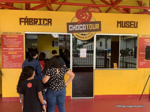 visita a fabrica de chocolate garoto