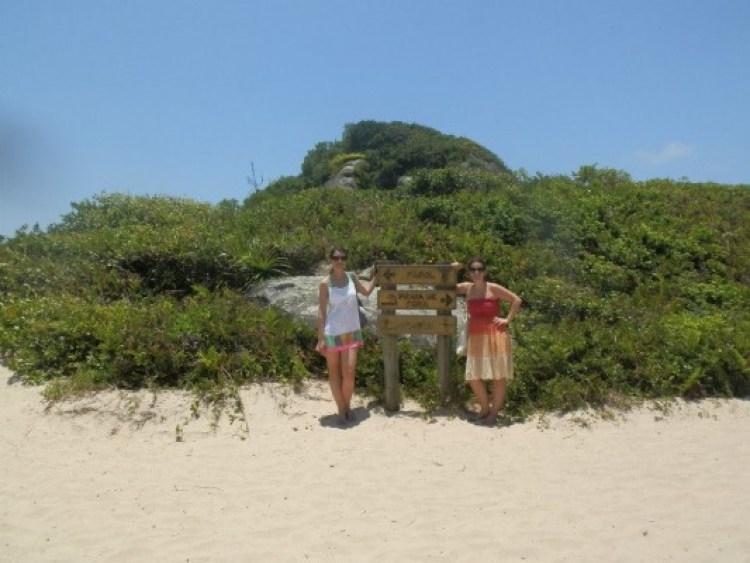 Curtindo a ilha com uma super amiga viajante, Suz Paquete