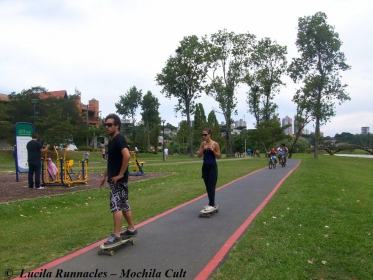Parque Barigui, o meu preferido