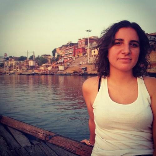 Curtindo a vida em Varanasi, Ìndia