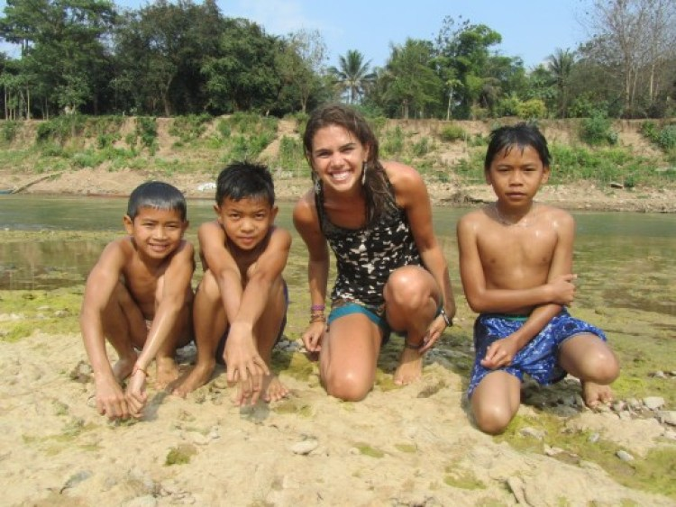 Novos amigos em Laos, Luang Prabang
