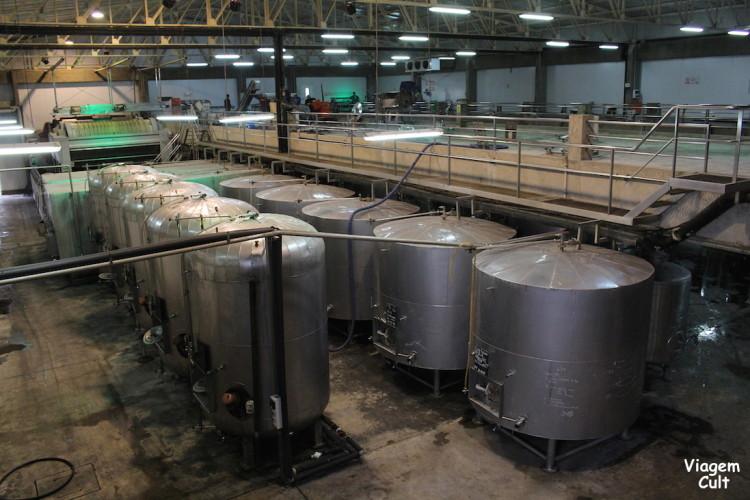 Fábrica de pisco da Tacama