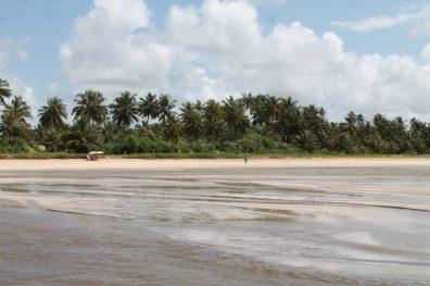 Praia Porto de Ruas, São Miguel dos Milagres