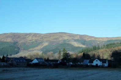 Paisagens durante o passeio de bate-volta às Highlands e Lago Ness
