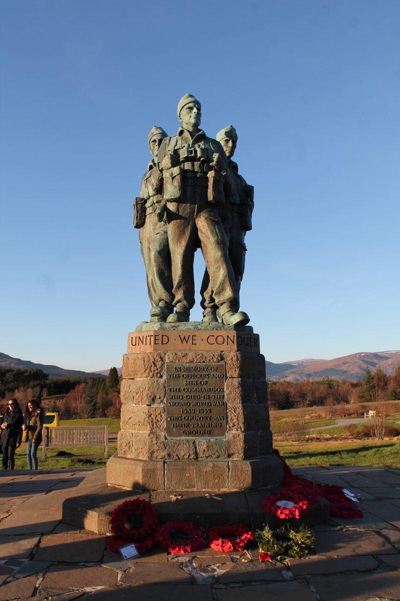 The Commando Memorial, Escócia