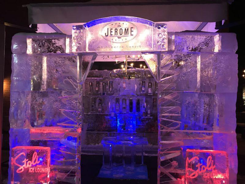 Hotel Jerome, Aspen, Ice Bar