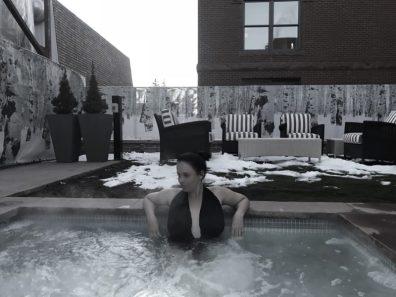 Piscina no Hotel Jerome, Aspen