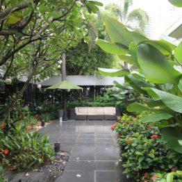 Jardim Tropical do Melt Café, no MO Singapore