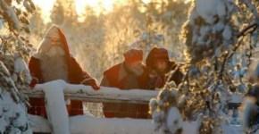Natale in Lapponia nella casa di Babbo Natale