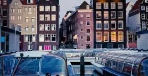 Vola per un Capodanno sui pattini ad Amsterdam