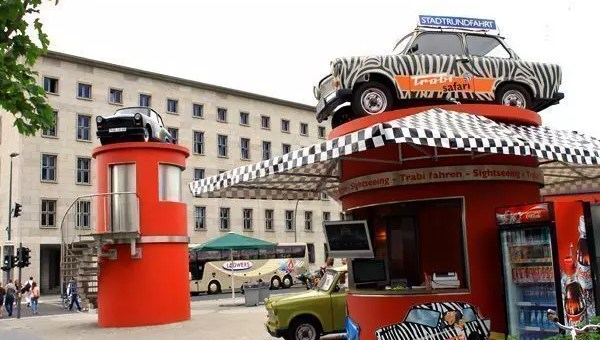 Visitare Berlino con Trabi Safari