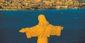 Cristo Rei, il panorama di Lisbona